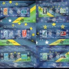 Sellos: SOLOMON ISLAS, 2005, MICHEL BL84 A BL89. Lote 231448365
