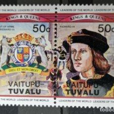 Francobolli: SELLOS TUVALU. Lote 233203390