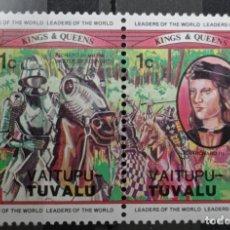 Francobolli: SELLOS TUVALU. Lote 233203520