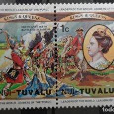 Francobolli: SELLOS TUVALU. Lote 233203575