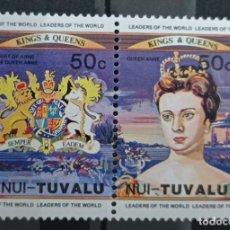 Francobolli: SELLOS TUVALU. Lote 233203635