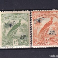 Sellos: SELLOS ANTIGUOS PAISES EXOTICOS DESAPARECIOS NUEVA GUINEA OCEANIA AÑO 1921 SOBRECARGA AVIACION. Lote 236630425