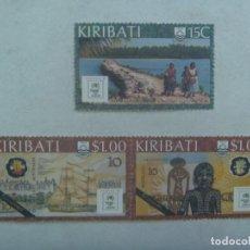 Sellos: LOTE DE 3 SELLOS DE KIRIBATI ( ISLA DEL PACIFICO ) .. SIN USAR. Lote 244405035
