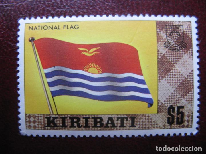 KIRIBATI, 1980, BANDERA NACIONAL, YVERT 32A (Sellos - Extranjero - Oceanía - Otros paises)