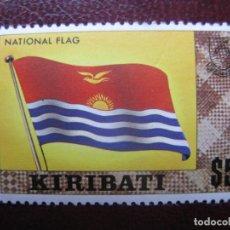 Sellos: KIRIBATI, 1980, BANDERA NACIONAL, YVERT 32A. Lote 244495810