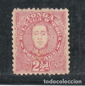 TONGA PROTECTORADO BRITÁNICO 30 SIN GOMA, (Sellos - Extranjero - Oceanía - Otros paises)
