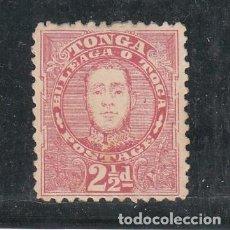 Sellos: TONGA PROTECTORADO BRITÁNICO 30 SIN GOMA,. Lote 257879075