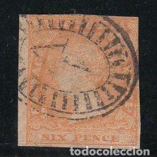 Sellos: VICTORIA COLONIA BRITANICA ..6 USADA,. Lote 258132595