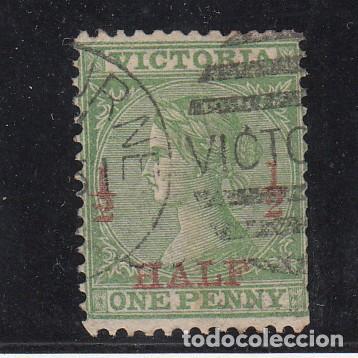 VICTORIA COLONIA BRITÁNICA .62 USADA, (Sellos - Extranjero - Oceanía - Otros paises)