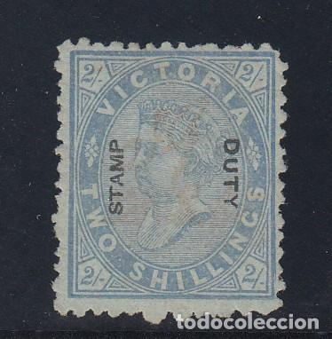 VICTORIA COLONIA BRITÁNICA .82 FALTA DIENTE SIN GOMA, (Sellos - Extranjero - Oceanía - Otros paises)