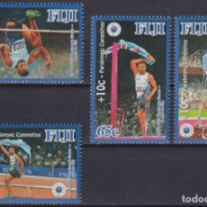 Sellos: ⚡ DISCOUNT FIJI 2013 LONDON 2012 PARALYMPIC GAMES - A GOLD FOR FIJI MNH - OLYMPIC GAMES. Lote 261239935