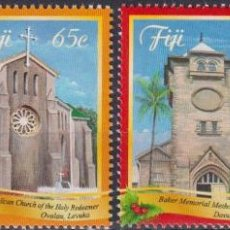 Sellos: ⚡ DISCOUNT FIJI 2014 CHRISTMAS MNH - CHURCHES, RELIGION, CHRISTMAS. Lote 261240055