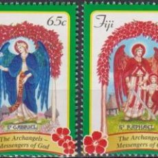 Sellos: ⚡ DISCOUNT FIJI 2015 CHRISTMAS - THE ARCHANGELS MNH - RELIGION, CHRISTMAS. Lote 261240180