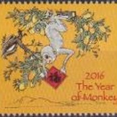 Sellos: ⚡ DISCOUNT FIJI 2016 CHINESE NEW YEAR - YEAR OF THE MONKEY MNH - NEW YEAR, MONKEYS. Lote 261240215