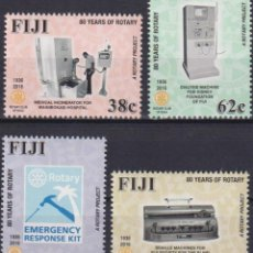 Sellos: ⚡ DISCOUNT FIJI 2016 THE 80TH ANNIVERSARY OF ROTARY IN FIJI MNH - TECHNOLOGY, SCIENCE AND TE. Lote 261240235