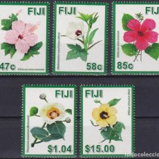 Sellos: ⚡ DISCOUNT FIJI 2016 HIBISCUS FLOWERS - A SYMBOL OF DIVERSITY IN FIJI MNH - FLOWERS. Lote 261240270