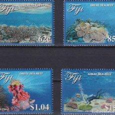 Sellos: ⚡ DISCOUNT FIJI 2017 GREAT SEA REEF MNH - MARINE FAUNA, UNDERWATER WORLD. Lote 261240310