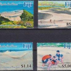 Sellos: ⚡ DISCOUNT FIJI 2017 SIGATOKA SAND DUNES MNH - NATURE. Lote 261240355
