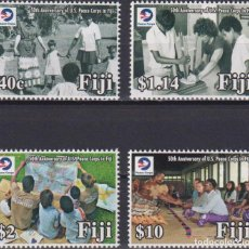 Sellos: ⚡ DISCOUNT FIJI 2018 THE 50TH ANNIVERSARY OF U.S. PEACE CORPS IN FIJI MNH - DIPLOMACY. Lote 261240440