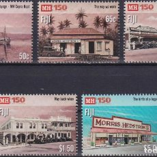 Sellos: ⚡ DISCOUNT FIJI 2019 THE 150TH ANNIVERSARY OF MORRIS HEDSTROM LTD. MNH - ARCHITECTURE, ECONO. Lote 261240490