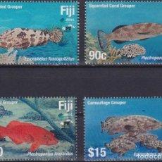 Sellos: ⚡ DISCOUNT FIJI 2019 MARINE LIFE - FISH MNH - FISH. Lote 261240515