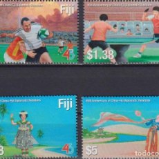 Sellos: ⚡ DISCOUNT FIJI 2020 THE 45TH ANNIVERSARY OF DIPLOMATIC RELATIONS WITH CHINA MNH - SPORT, DI. Lote 261240585