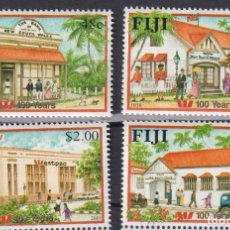 Sellos: ⚡ DISCOUNT FIJI 2001 THE 100TH ANNIVERSARY OF THE WESTPAC BANK MNH - ECONOMY, BANK. Lote 261240675
