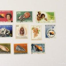Sellos: 10 SELLOS DE PAPUA Y NUEVA GUINEA. Lote 262070345