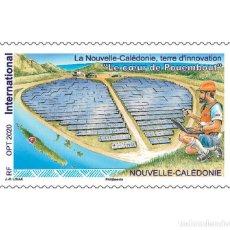 Sellos: NEW CALEDONIA 2021 - LE COEUR DE POUEMBOUT. Lote 263581410