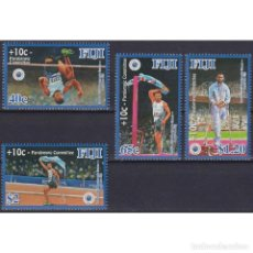 Sellos: ⚡ DISCOUNT FIJI 2013 LONDON 2012 PARALYMPIC GAMES - A GOLD FOR FIJI MNH - OLYMPIC GAMES. Lote 270388143