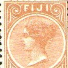 Sellos: FIDJI IS FIYI ANTIGUO SELLO NUEVO REINA VICTORIA ANO 1882. Lote 277407018