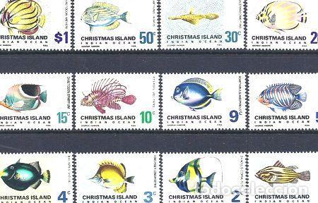 FAUNA PECES ISLA DE NAVIDAD 1968 SERIE MINT (Sellos - Extranjero - Oceanía - Otros paises)