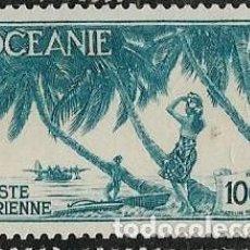Sellos: OCEANÍA FRANCESA AÉREO YVERT 18. Lote 277755658