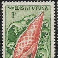 Sellos: WALLIS Y FUTUNA YVERT 163, FAUNA. Lote 278504868