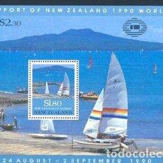 Sellos: 1990 NAVEGACION A VELA NUEVA ZELANDA SELLOS MINT. Lote 278864268
