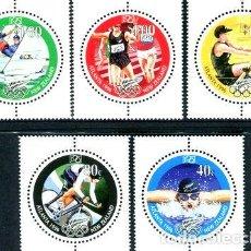Sellos: 1996 JUEGOS OLIMPICOS ATLANTA NUEVA ZELANDA SELLOS MINT. Lote 278864353