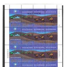 Sellos: ISLAS MARSHALL SCOTT #58E MNH SHEET OF 16 CHRISTMAS **. Lote 286170663