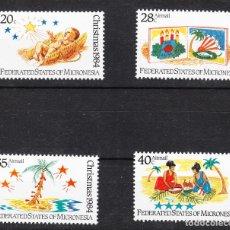Sellos: 1984 MICRONESIA NAVIDAD SERIE COMPLETA **. Lote 287225578