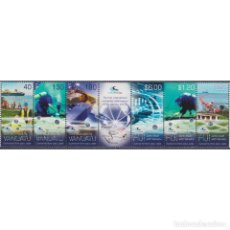 Sellos: FJ1410ML FIJI 2014 MNH UNDER WATER CABLE - JOINT ISSUE WITH VANUATU. Lote 287530513
