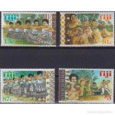 Sellos: FJ888 FIJI 1999 MNH TRADITIONAL FIJIAN DANCES. Lote 287531483