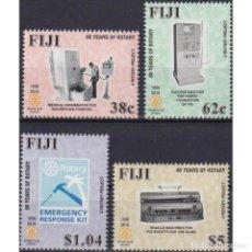 Sellos: FJ1460 FIJI 2016 MNH THE 80TH ANNIVERSARY OF ROTARY IN FIJI. Lote 287533528