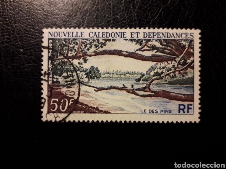NUEVA CALEDONIA YVERT A-75 SERIE COMPLETA USADA 1964 ISLA DE LOS PINOS. PEDIDO MÍNIMO 3 € (Sellos - Extranjero - Oceanía - Otros paises)