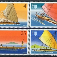 Sellos: FIJI 1977 IVERT 360/3 ** BARCOS DE VELA. Lote 289799498
