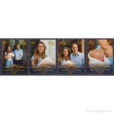 Sellos: ⚡ DISCOUNT FIJI 2013 ROYAL BABY - PRINCE GEORGE OF CAMBRIDGE MNH - ROYALS. Lote 289979183
