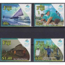 Sellos: ⚡ DISCOUNT FIJI 2018 FIJI PRESIDENCY OF THE UN CLIMATE CHANGE CONFERENCE MNH - NATURE, AGRIC. Lote 289979283