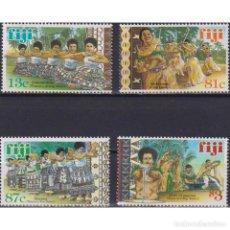 Sellos: ⚡ DISCOUNT FIJI 1999 TRADITIONAL FIJIAN DANCES MNH - CULTURE, ETHNOS, DANCING. Lote 289979358