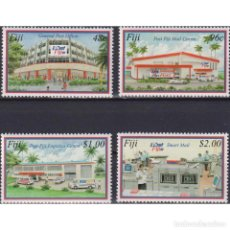 Sellos: ⚡ DISCOUNT FIJI 2003 OPENING OF NEW MAIL CENTRE MNH - POST OFFICE, POST SERVICES, COMPUTERS. Lote 289979378