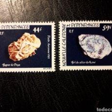 Sellos: NUEVA CALEDONIA YVERT A-227/8 SERIE COMPLETA NUEVA *** 1983 MINERALES. PEDIDO MÍNIMO 3€. Lote 293641263