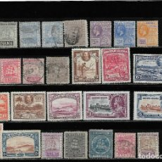 Sellos: BRITISH GUYANA, LOTE DE 29 VALORES PARTE ANTIGUA EN NUEVO Y USADO.. Lote 293756368