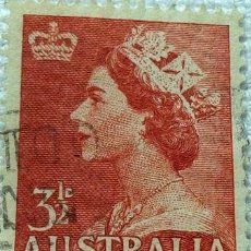 Sellos: ESTAMPILLA DE AUSTRALIA REINA ISABEL II. Lote 294251703